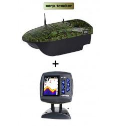 Carp tracker avec échosondeur couleur FF918C