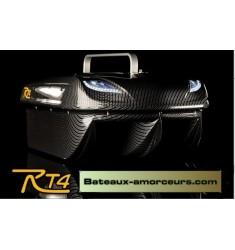 RT4 carbon futaba T6K + moteur brushless