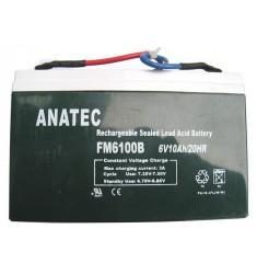 batterie pour anatec monocoque et catamaran 6V 12AH