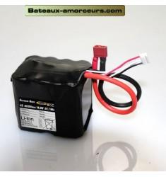 Batterie principal Li-Ion 14,8V 6,6aH pour RT3 et RT4