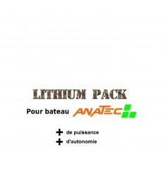 Pack batteries lipo pour anatec monocoque et catamaran