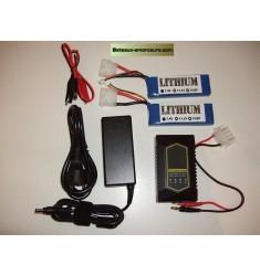 Pack batteries lithium pour toslon 640/630 et TF500